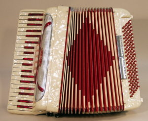 Caddo 3 Octave Keyboard Accordion  c. 1960's