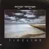 Tideline by Darol Anger and Barbara Higbie.  33 1/3 Record with an ocean tide on cover (1982)