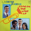 Mister Rogers, Come and Wake Up by Fred Rogers.  33 1/3 Record with Mister Rogers, Francois Clemmons and Yoshi Ito on cover (1972)