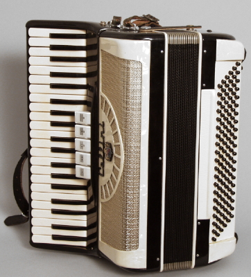 Cellini  No. 388/126 Keyboard Accordion ,  c. 1960s