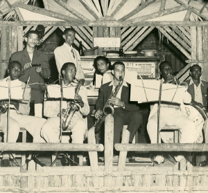 Photographic Print of  a Cuban Band Performing in a Night Club,  c. Late 1940's