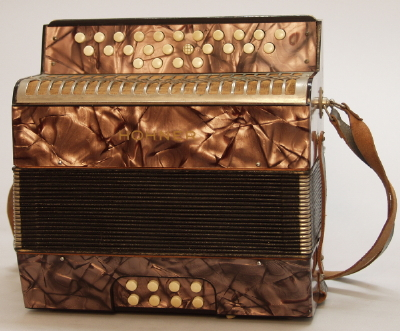 M. Hohner  Liliput Button Accordion ,  c. 1930's