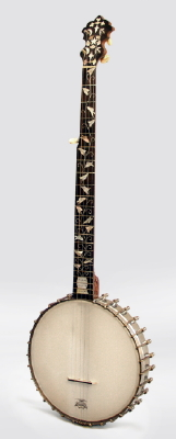 Acme Professional 5 String Banjo, made by S. S. Stewart ,  c. 1897