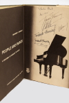 People and Pianos by Theodore E. Steinway.  Autographed hardcover (1953)