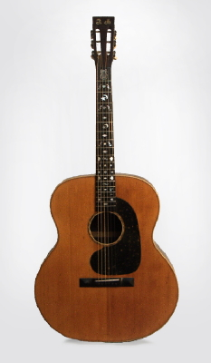 Weymann  Keystone State Super Jumbo Flat Top Acoustic Guitar ,  c. 1910
