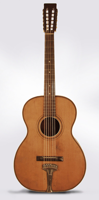 Stella Jumbo Style #450 12 String Flat Top Acoustic Guitar, made by Oscar Schmidt ,  c. 1919