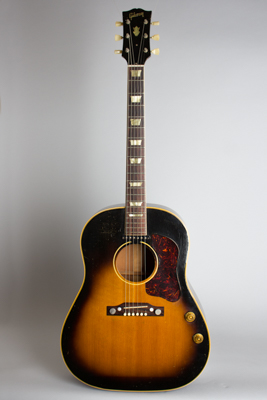 Gibson  J-160E Flat Top Acoustic-Electric Guitar  (1956)