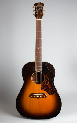 Recording King Ray Whitley Jumbo Model 1028 Flat Top Acoustic Guitar, made by Gibson  (1940)