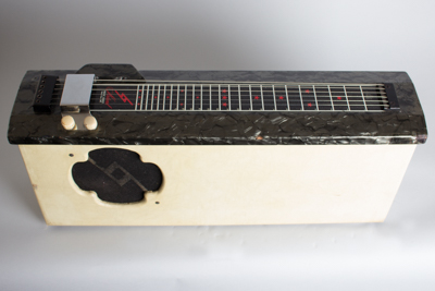 Natural Music Guild Lap Steel Electric Guitar and Amplifier Set, made by Magnatone  (1950's)