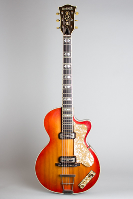 Hofner  Club 60 Arch Top Hollow Body Electric Guitar  (1960)