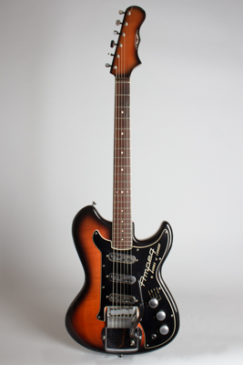 Ampeg Deluxe Wild Dog/ Split Sonic Solid Body Electric Guitar,  made by Burns  (1963)
