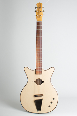 Danelectro  Convertible Model 5005 owned by Vinnie Bell Flat Top Acoustic Guitar  (1965)