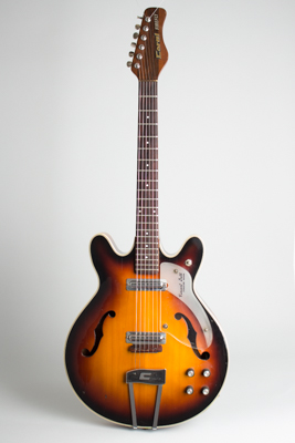 Coral  Vincent Bell Firefly F2N6 Thinline Hollow Body Electric Guitar  (1967)