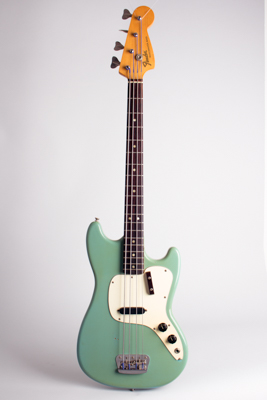 Fender  Musicmaster Bass Solid Body Electric Bass Guitar  (1972)