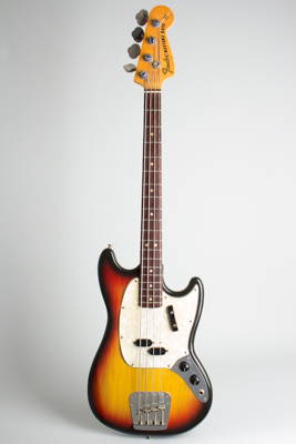 Fender  Mustang Solid Body Electric Bass Guitar  (1972)