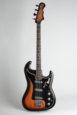 Burns  Jazz Bass Solid Body Electric Bass Guitar  (1965)